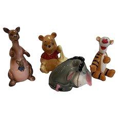 Vintage Disney Pooh bear and friends