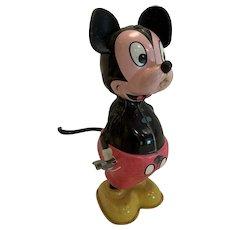 Vintage Disney Linemar Mickey Mouse tail twirler