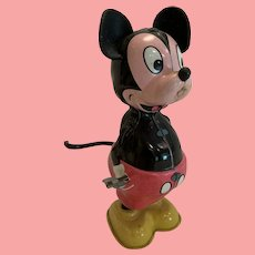 Vintage Disney Linemar Mickey Mouse tail twirler