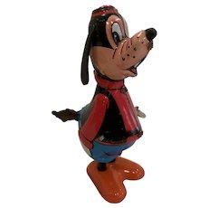Vintage Disney Linemar Goofy tail twirler