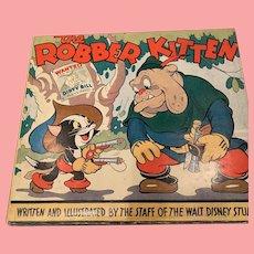 Rare Disney The Robber Kitten book