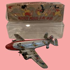 Rare Disney Mickey Mouse airline with box