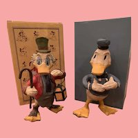 Mint pair Disney Donald Duck and Uncle Scrooge polliwogs