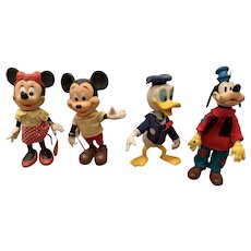 Wonderful Dakin Disney Mickey, Minnie, Donald and goofy