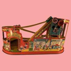 Fabulous Disney Chein roller coaster