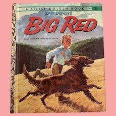 Walt Disney Big Red little golden book