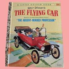 Walt Disney's The Flying Car little golden book