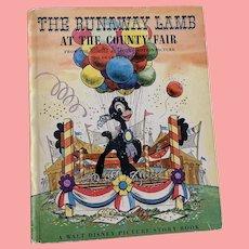 Walt Disney The runaway lamb story book