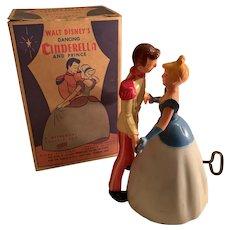 Vintage Disney waltzing Cinderella and prince