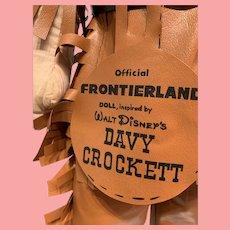 Near mint autographed Disney's Davy Crockett figure