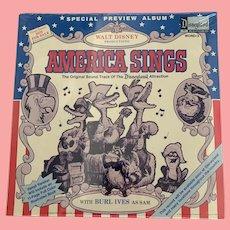 Mint, Disney promotional, America sings album