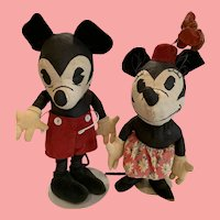 Fabulous Disney Charrlotte Clark pattern Mickey and Minnie mouse