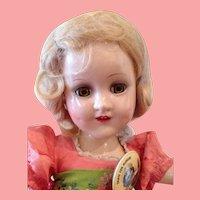 Near mint Madame Alexander Sonja Henie Doll