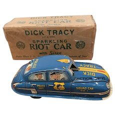 Near MIB MARX dick Tracy riot car