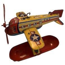 Vintage Chein Sea plane