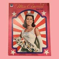 Mint Miss America paper doll