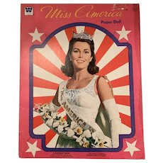 Mint Miss America paper doll