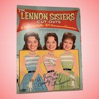 Mint Lennon sisters paper dolls