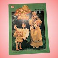 Mint Sunshine fun family paper dolls