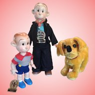 Rarest, Jane Withers estate, Knickerbockers Dagwood, baby Dumpling & Daisy