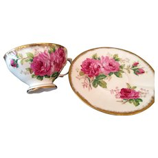Lovely wide brim cup & saucer