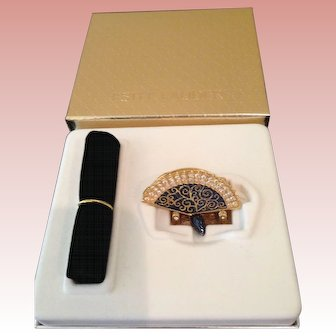 MIB Estée Lauder Venetian Fan solid perfume