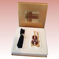 MIB Estée Lauder violin solid perfume