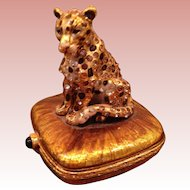 MIB Jay Strongwater leopard box