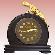 Leopard clock for Gene Marshall