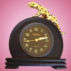 Leopard clock for Gene Marshall