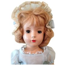 "Minty , Early 14"" Hard Plastic girl."