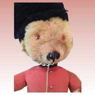 "Vintage Merrythought 22"" English Guardsman bear"
