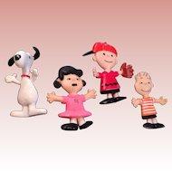 Vintage 1969 peanuts Bendys , SNoopy,  Charlie Brown!