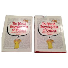 The World Encyclopedia of Comics, VOL 1 and 2