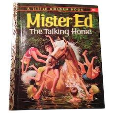 Vintage 1962 Mr. ED, little golden BOOK