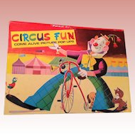 Vintage Circus FUN pop up book
