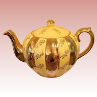 Spectacular vintage Gibsons buttercup yellow Tea Pot