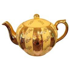 Spectacular vintage Gibsons buttercup yellow Tea Pot