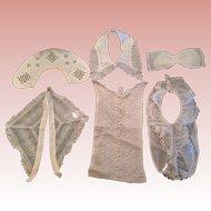 Vintage ladies Lace collars