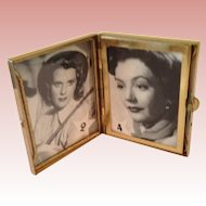 Vintage miniature mother of Pearl Photo Frame