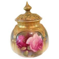 Fabulous Royal Worcester incense holder
