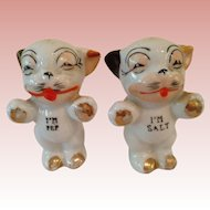 Vintage Bonzo dog SALT and pepper shakers