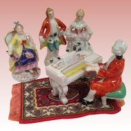 Vintage Japan pianoforte concert figures