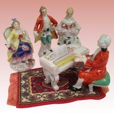 Vintage Japan pianoforte concert figures