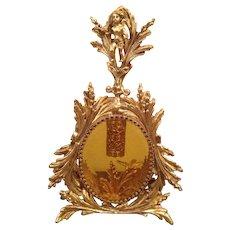 Perfect large vintage Ormolu brass  Perfume