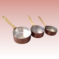 Great set of Copper. Cookware for Dolly