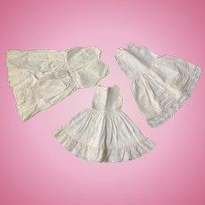 Antique cotton full Doll Slips