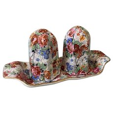 Vintage lord Nelson Chintz salt and pepper