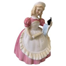 Mint Royal Doulton cookie girl
