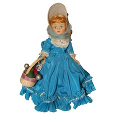 Madame Alexander Cissette Melinda in Turquoise Blue Gown